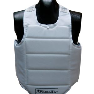 Karate-bodyprotector Arawaza | wit - Product Kleur: Wit