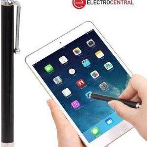 Touchscreen stylus touch pen zwart (voor o.a iPhone, iPad en Galaxy S4 & S5)