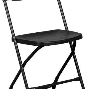 VVEP - Klapstoel Titan - Zwart / Zwart