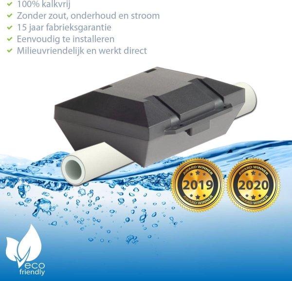 ✅ Waterontharder Black Edition - voor alle Alupex waterleidingen (magneet waterleiding) ☆ Water ontharder | Antikalk | Kalkaanslag | Water ontkalker | Waterverzachter | Magnetisch | Waterontkalker | > 20.000 Gauss / 20 Tesla
