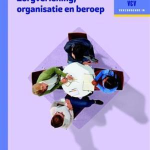 Traject V&V Zorgverlening, organisatie en beroep - Werkboek niveau 3