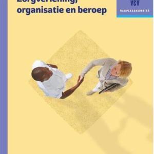 Traject V&V Zorgverlening, organisatie en beroep - Werkboek niveau 4