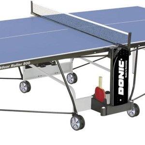 Buiten tafeltennistafel DONIC Outdoor Roller 800-5 blauw