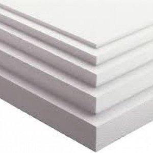 EPS (100-SE) Piepschuim Tempex Isolatie platen 100x50x6 cm pak 8 platen