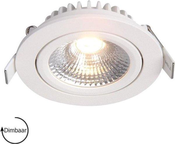 Inbouwspots rond   wit   2700K   IP54   badkamer verlichting