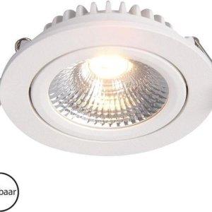 Inbouwspots rond | wit | 2700K | IP54 | badkamer verlichting