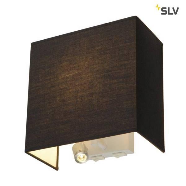 SLV Accanto LEDspot zwart bedlamp