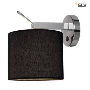 SLV Tenora WL-1 ZWART bedlamp