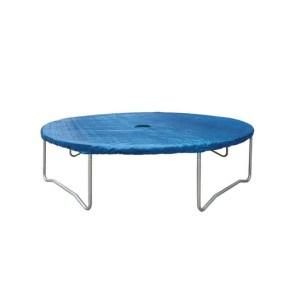 Blauwe afdekzeil trampoline 423 cm