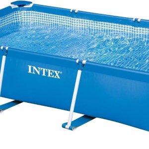 Intex Family Frame Zwembad 300x200x75cm - Opzetzwembad Rechthoekig