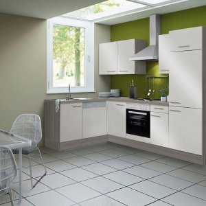 Optifit® hoek keuken 'Visby' compleet incl. apparatuur