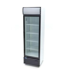 Barkoeler / Flessenkoeler - 360 Liter - Verlicht Display - Dubbel Glas - Slot + 8 Roosters - Temperatuur Controller - Horeca Displaykoeler - Maxima