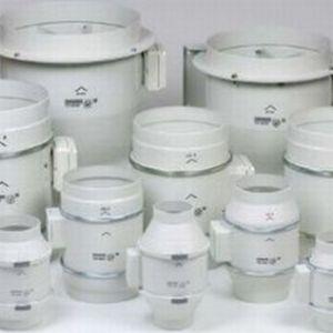 Besli buisventilator TD 350-125, crème