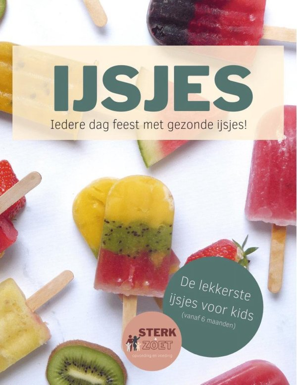IJSJES Kookboek gezonde ijsjes voor kinderen