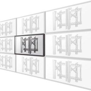 "Neomounts by Newstar LED-VW2500BLACK1 videowall steun - t/m 75"" - Zwart"