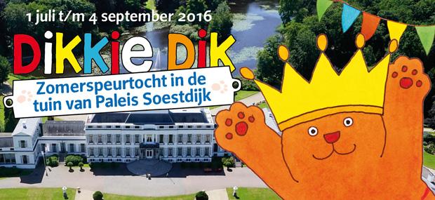 Dikkie Dik koninklijk op Paleis Soestdijk