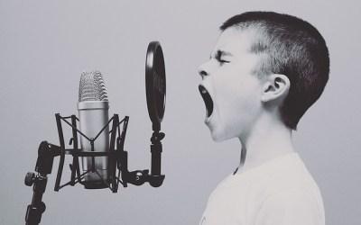 Schreeuwen tegen je kind