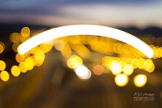Luzes de la carretera.Cantar, contemplar para crear.