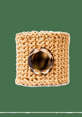 Brazalete joya con cristal Swarovski