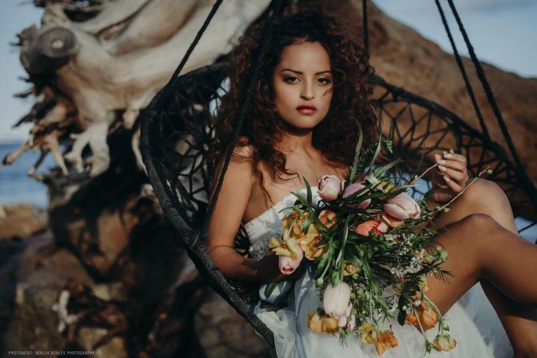 "Editorial ""Destino Salvaje"". Bridal collection."