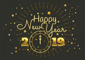happy new year 2019 wallpaper