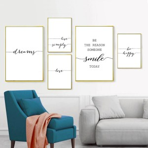 Letters & Quotes Art