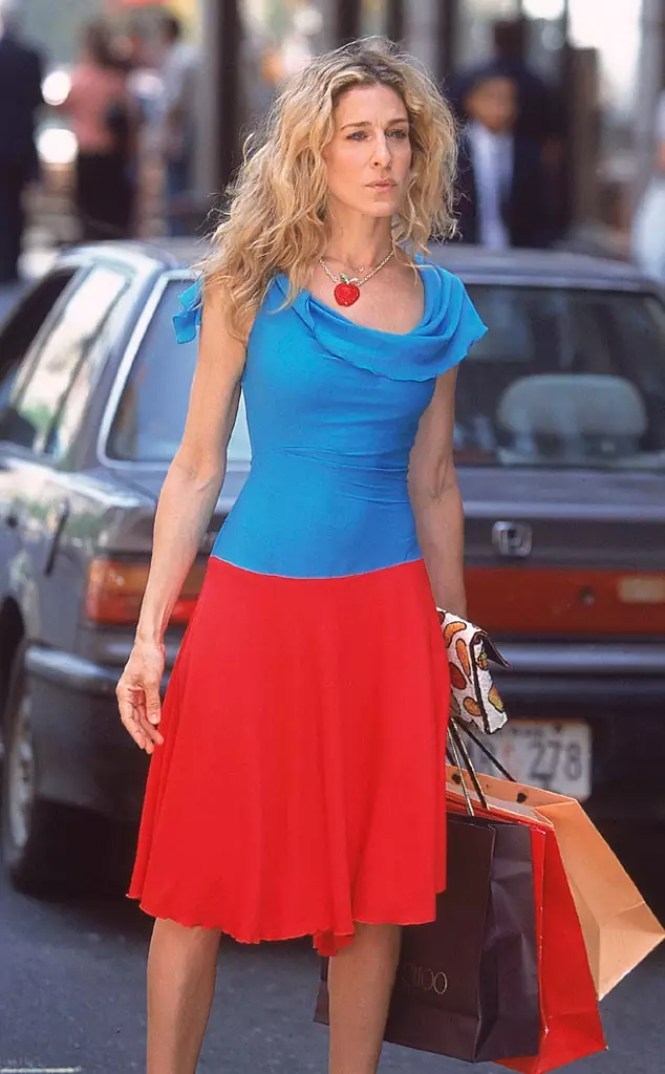 best carrie bradshaw looks according to alley girl 17