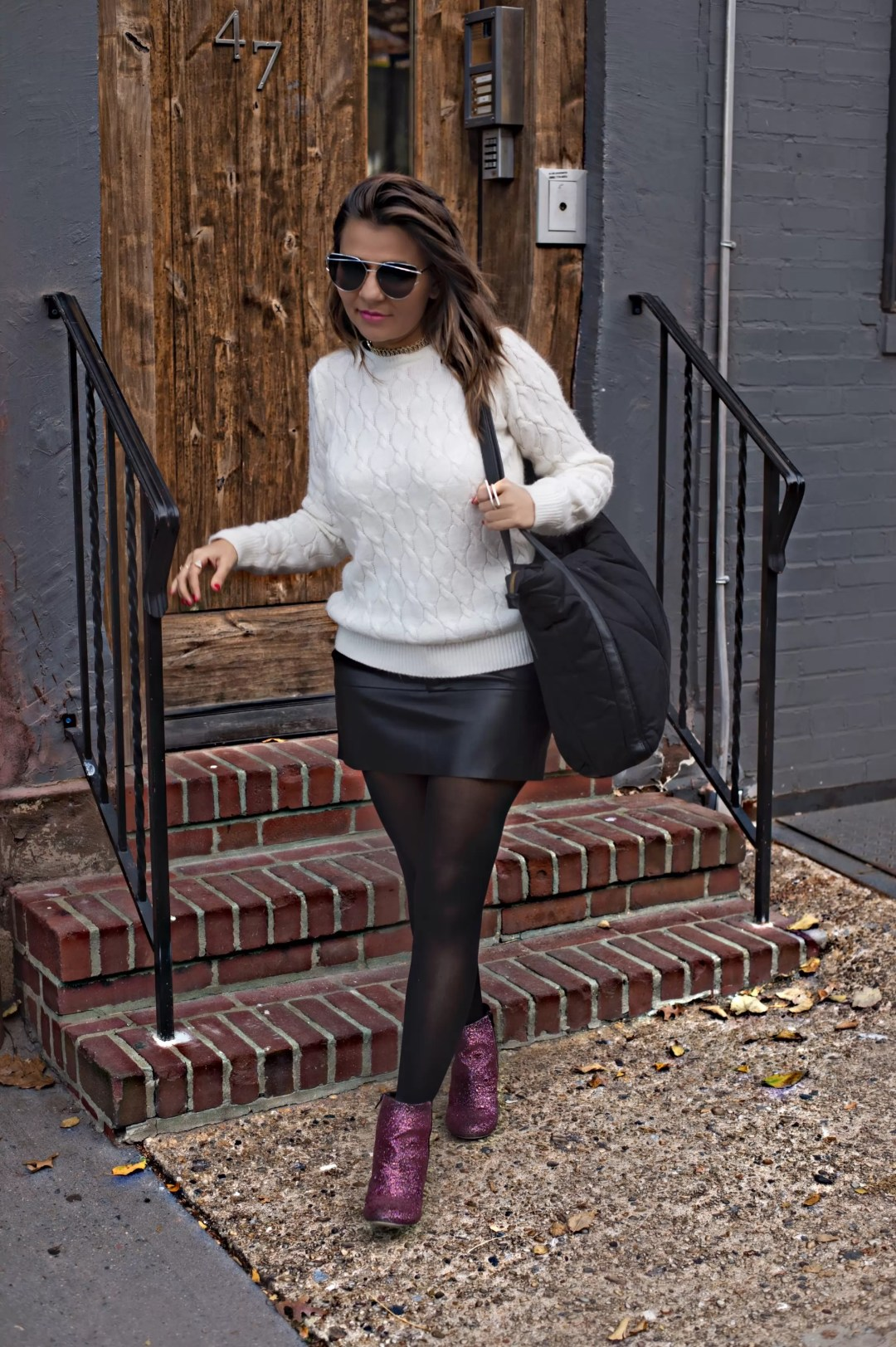sparkle-boots-leather-skirts-alley-girl-betul-yildiz-new-york-fashion-blogger