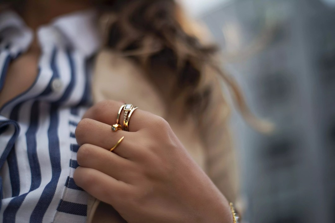 stripe-shirt-details-and-gold-plated-ring