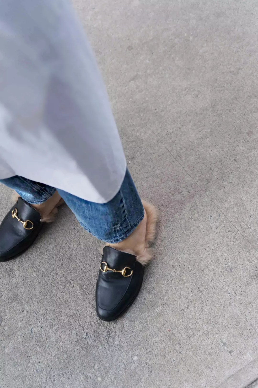 personal style gucci loafers