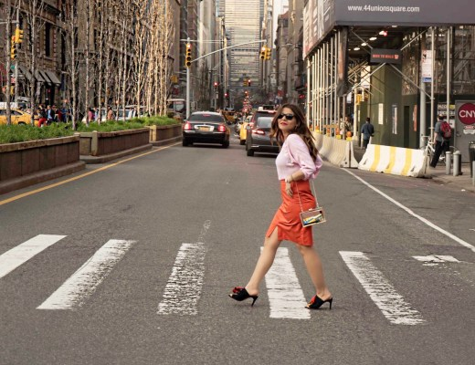 alley girl betul k yildiz new york street style blogger - Color Blocking Times of the Year