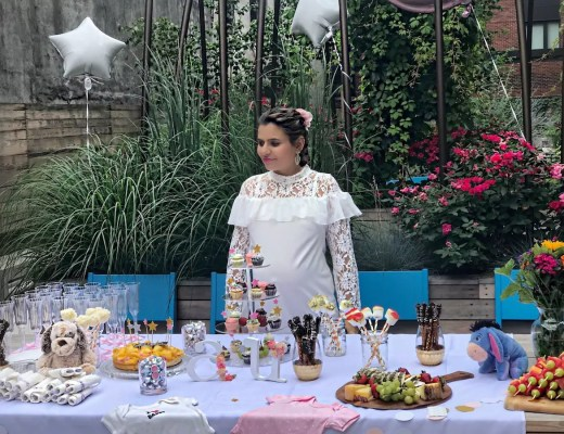 alley girl betul yildiz baby shower dress - My Baby Shower for the Twins and Updates from Week 30