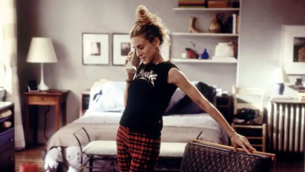 Carrie Bradshaw and The way She Works from Home