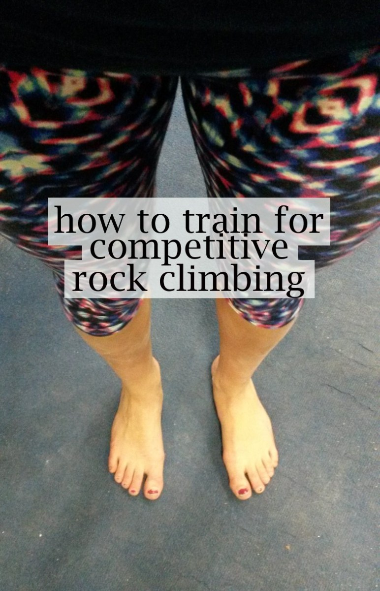 How to train for competitive climbing