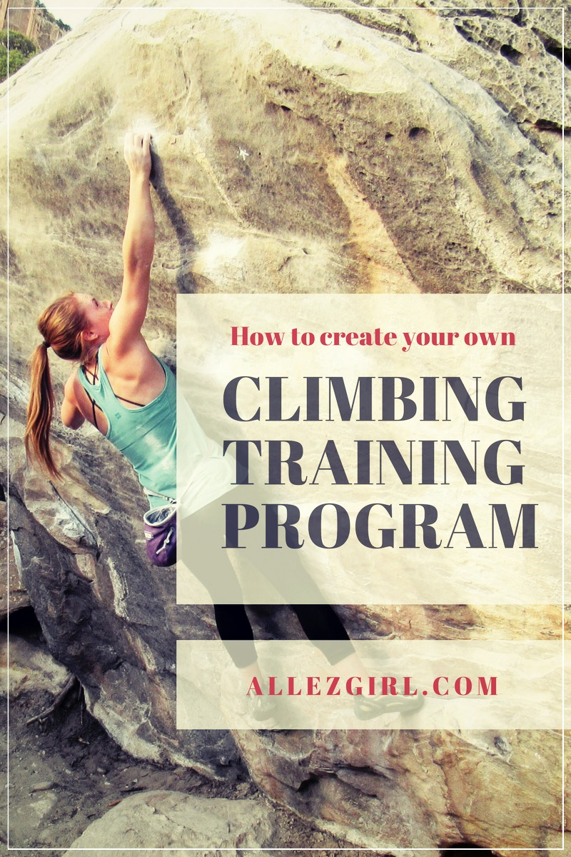 Tips for Creating your Own Climbing Training Plan