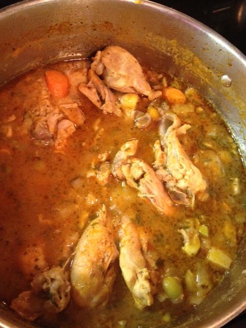 Pollo Guisado: Dominican Stewed Chicken (gf) (6/6)
