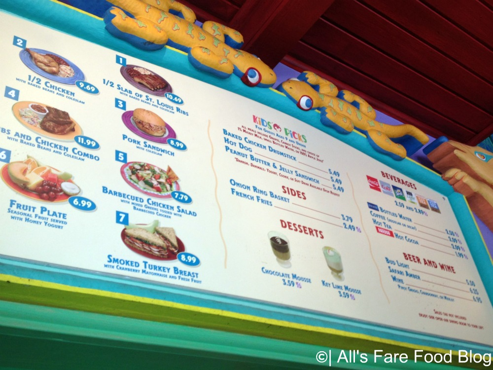 Review: Disney's Flame Tree Barbecue (4/6)