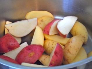 Quartered Potatoes