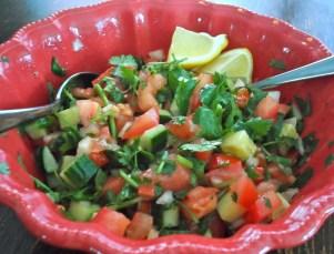 Tomato - Cilantro Salad