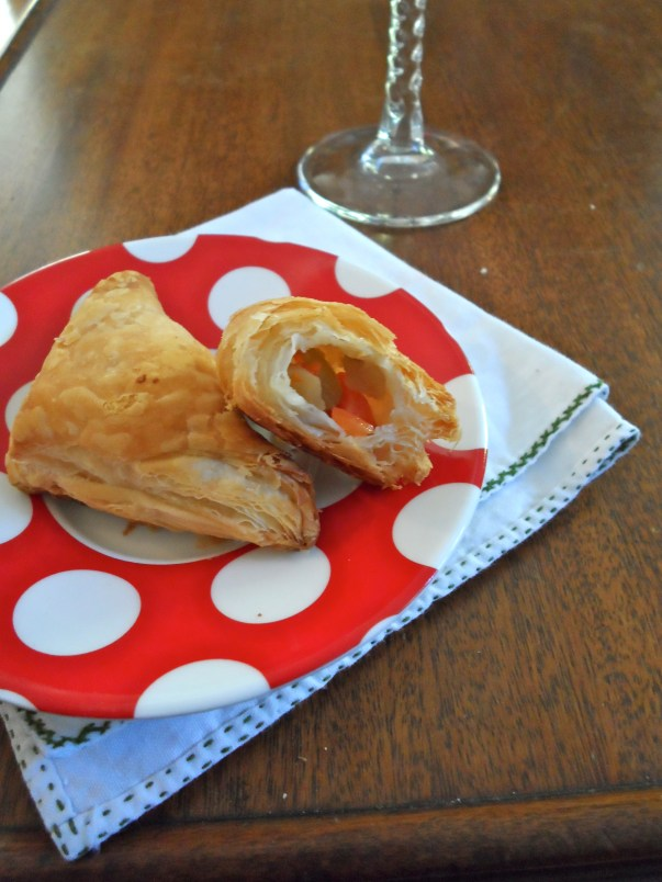 Savory Pastry Triangles
