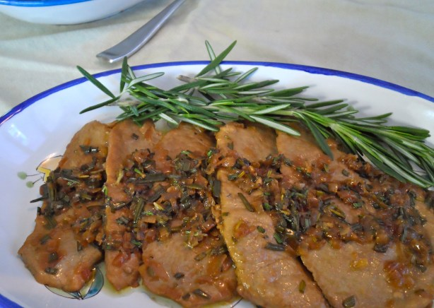 Veal with Rosemary