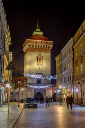 Krakowi Florianska värav