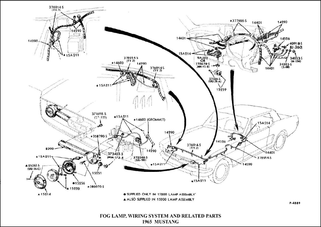 Mustang Wiring Diagram For Lighting Free
