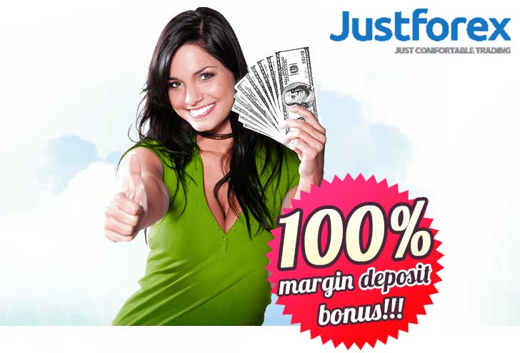 100% Margin Deposit Bonus