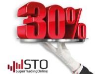 30% Forex Welcome Bonus on First Deposit - STO