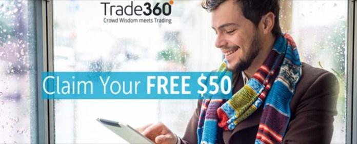 $50 Free No Deposit Bonus Trade360