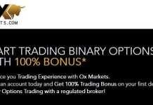 100% BINARY OPTIONS TRADING BONUS