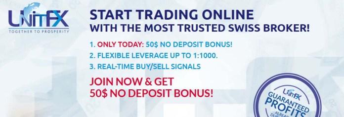 GET 50$ no deposit bonus Forex