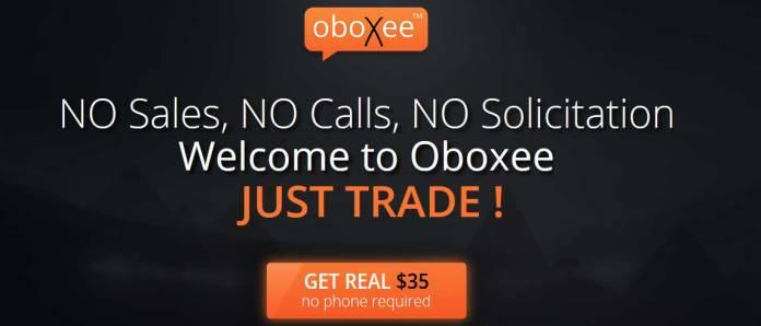 Oboxee $35 NO Deposit Options Bonus