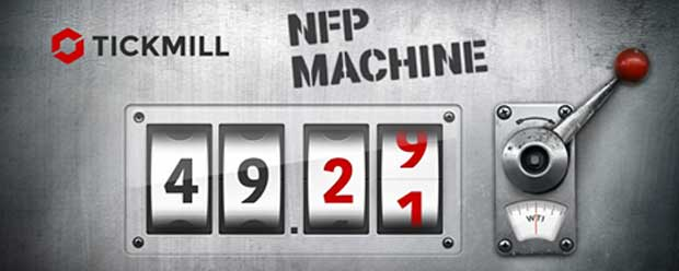 Tickmill $500 Bonus NFP Machine